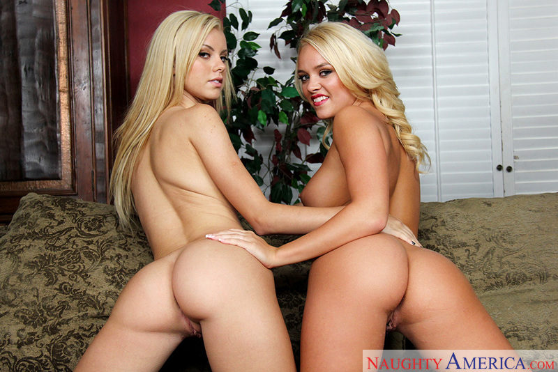 Porn star Alexis Monroe & Jessie Rogers getting ready