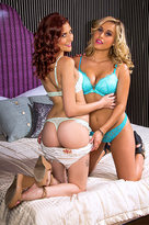 Ashlyn Molloy starring in Sister's Friendporn videos with American and Ass licking