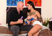 Bonnie Rotten & Johnny Sins in My Sister's Hot Friend story pic