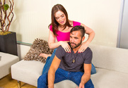 Jodi Taylor & Daniel Hunter in My Sisters Hot Friend - Sex Position 1