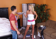 Kiara Diane & Mikey Butders in My Sisters Hot Friend - Sex Position 1