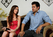 Maddy O'Reilly & Giovanni Francesco in My Sisters Hot Friend - Sex Position 1