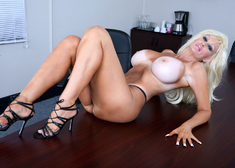 Brittany O'Neil & Danny Mountain in My Wife's Hot Friend - Centerfold