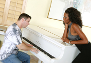 Nyomi Banxxx & John Strong in My Wife's Hot Friend story pic
