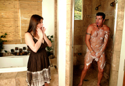 Sara Stone & Cheyne Collins in My Wife's Hot Friend story pic