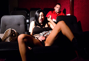 Audrey Bitoni & Johnny Castle in Dirty Wives Club story pic