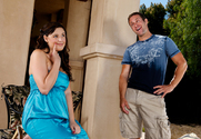 Brooke Lee Adams & Jack Lawrence in Neighbor Affair story pic