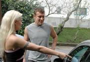 Cindy Crawford & Jerry in Neighbor Affair