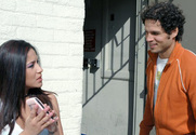 Jenaveve Jolie & Benjamin Brat in Neighbor Affair story pic