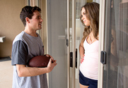 Liza Rowe & Tyler Nixon in Neighbor Affair
