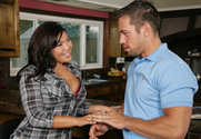 London Keyes & Johnny Castle in Neighbor Affair - Sex Position 1
