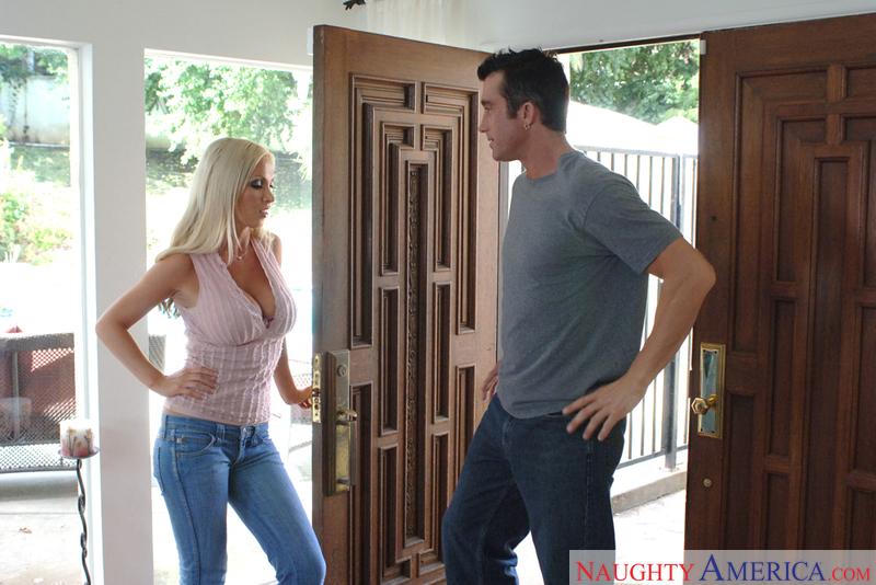 Nikki Benz & Billy Glide In Neighbor Affair