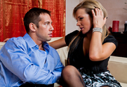 Nikki Sexx & Johnny Castle in Neighbor Affair story pic