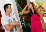 Nikki Sexx & Billy Glide in Neighbor Affair story pic