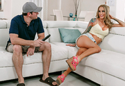 Sarah Jessie & Preston Parker in Neighbor Affair story pic