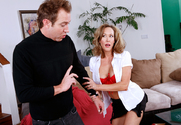 Brandi Love & Will Powers in Naughty America - Sex Position 1