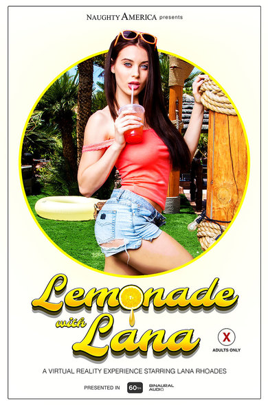 Perfect summer day with Lana Rhoades, her big natural tits, and a cold lemonade.