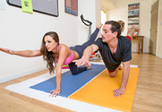 Abigail Mac & Tyler Nixon in Naughty Athletics story pic