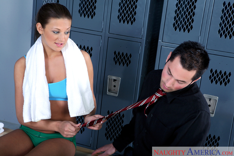 Porn star Carmen McCarthy 2 getting ready