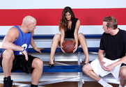 Madelyn Marie, Christian & Mark Wood in Naughty Athletics - Sex Position 1
