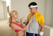 Dylan Riley & Anthony Rosano in Naughty Athletics - Sex Position 1