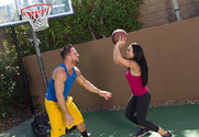 Holly West & Johnny Castle in Naughty Athletics - Sex Position 1