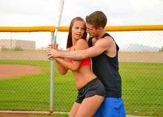 Jillian Janson & Brick Danger in Naughty Athletics - Centerfold