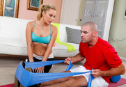 Kiara Diane & Charles Dera in Naughty Athletics - Sex Position 1