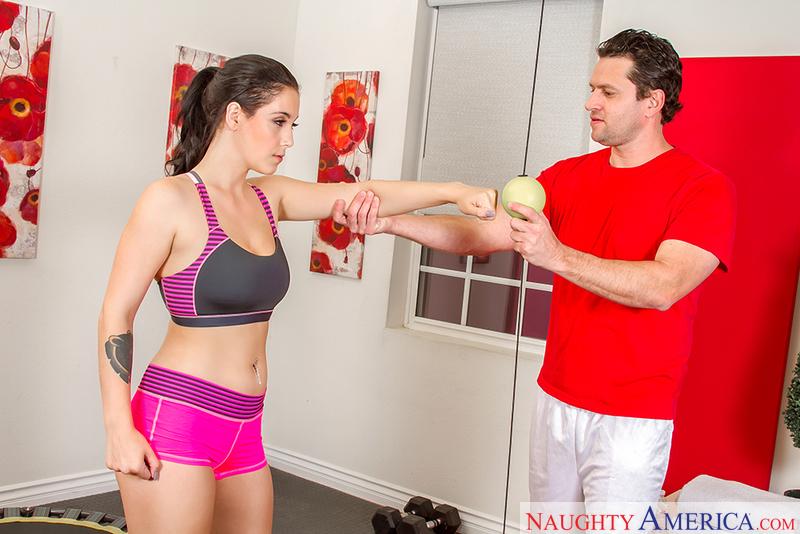 Naughtyamerica – Noelle Easton & Preston Parker in Naughty Athletics