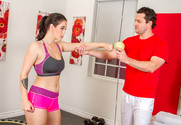 Noelle Easton & Preston Parker in Naughty Athletics - Sex Position 1