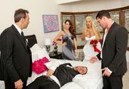 Bridgette B. & Preston Parker in Naughty Weddings - Sex Position 1
