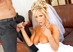 Tasha Reign & Ryan Driller in Naughty Weddings - Centerfold