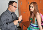 Ava Sparxxx & Kurt Lockwood in Naughty Bookworms - Sex Position 2