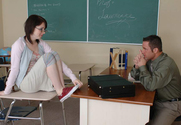 Lexi Belle & Jack Lawrence in Naughty Bookworms - Sex Position 1