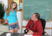 Staci Silverstone & Alec Knight in Naughty Bookworms - Sex Position 1