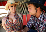 Abbey Brooks & Rocco Reed in Naughty Country Girls - Sex Position 1
