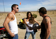 Madelyn Marie & Danny Mountain & Tony DeSergio in Naughty Country Girls story pic