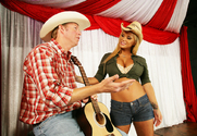 Shyla Stylez & Mark Wood in Naughty Country Girls - Sex Position 1