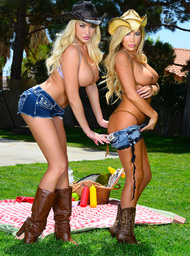 Tasha Reign, Summer Brielle & Chad White in Naughty Country Girls - Centerfold