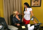 Abbey Brooks and Nina Mercedez - Sex Position 1