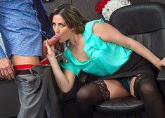 Addie Juniper & Johnny Castle in Naughty Office