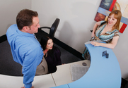 Alayna Dior & Cassandra Calogera & Alec Knight in Naughty Office story pic