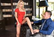 Alix Lynx & Johnny Castle in Naughty Office