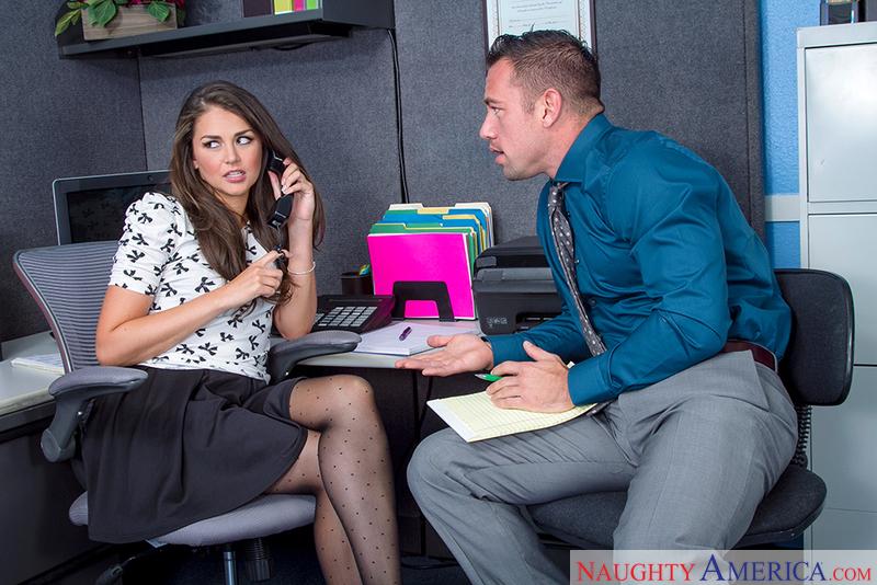 Naughtyamerica – Allie Haze & Johnny Castle in Naughty Office
