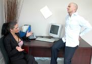 Ana Nova & Ben English in Naughty Office story pic