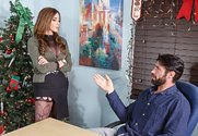 Ariella Ferrera & Charles Dera in Naughty Office