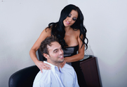 Audrey Bitoni & Rocco Reed in Naughty Office - Sex Position 1