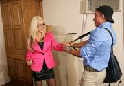 Briana Blair & War Machine in Naughty Office story pic