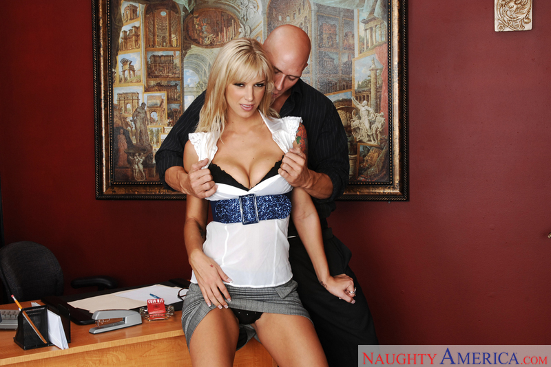 Porn star Brooke Banner #2 getting ready