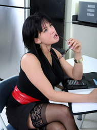 Tory Lane & Billy Glide in Naughty Office - Centerfold